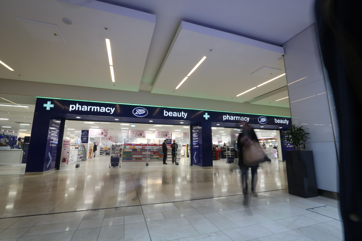Work Experience in a Boots Store