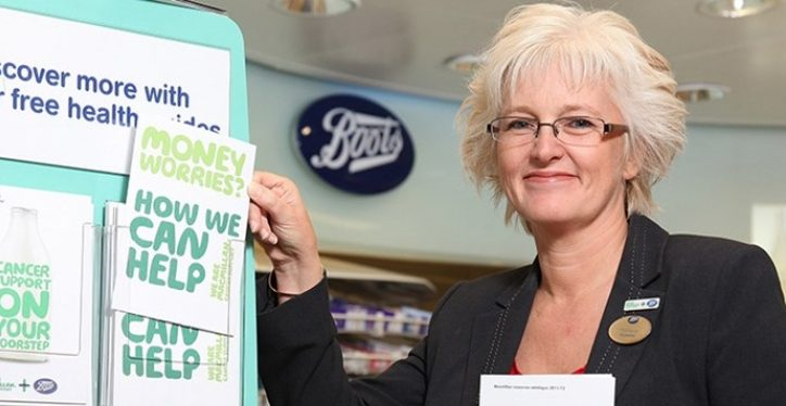 Boots UK and Macmillan Amongst 'Most Admired' Charity Partners