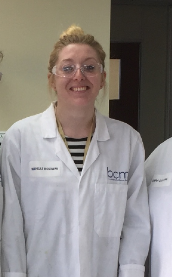 BCM R  D lab girls