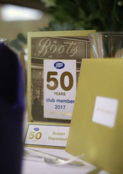 Boots 50 Year Club