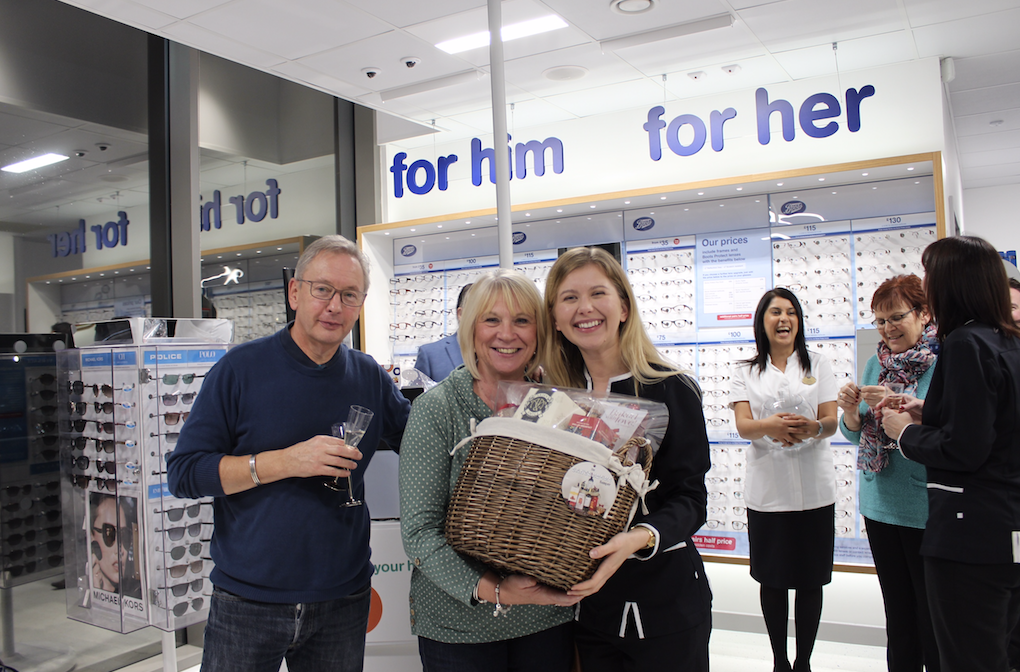 Boots Opticians Celebrates its First Year of Care for the Sutton Coldfield Community