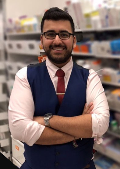 Christmas Temp to Pre-reg Pharmacist – Hursh's story