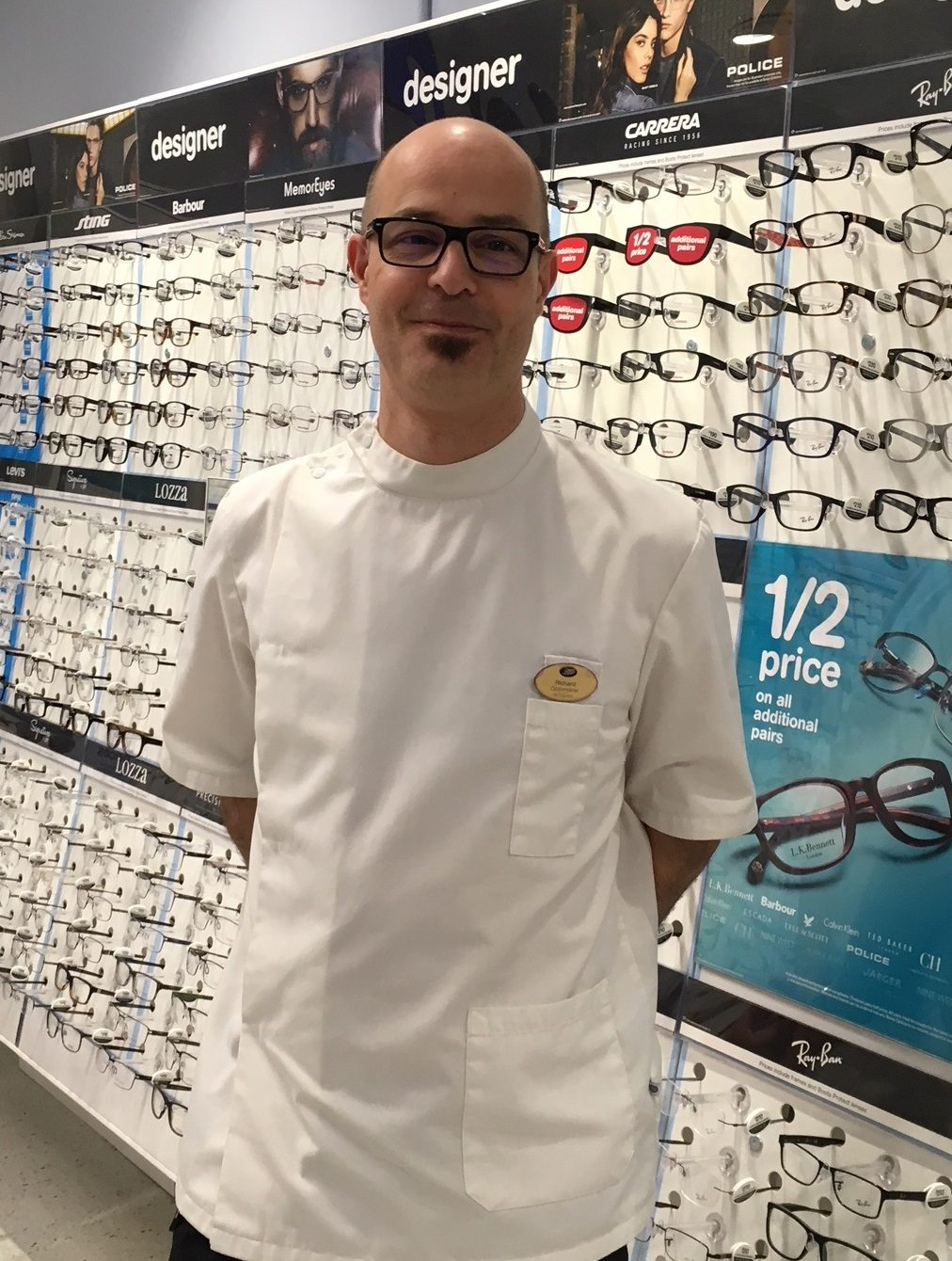 My journey into Optometry – Richard's Story
