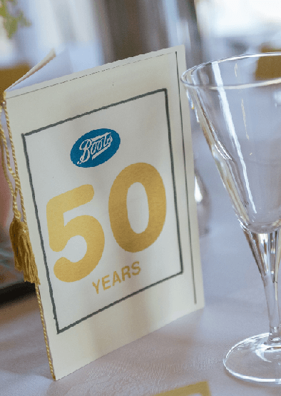 Boots 50 Year Club 2018