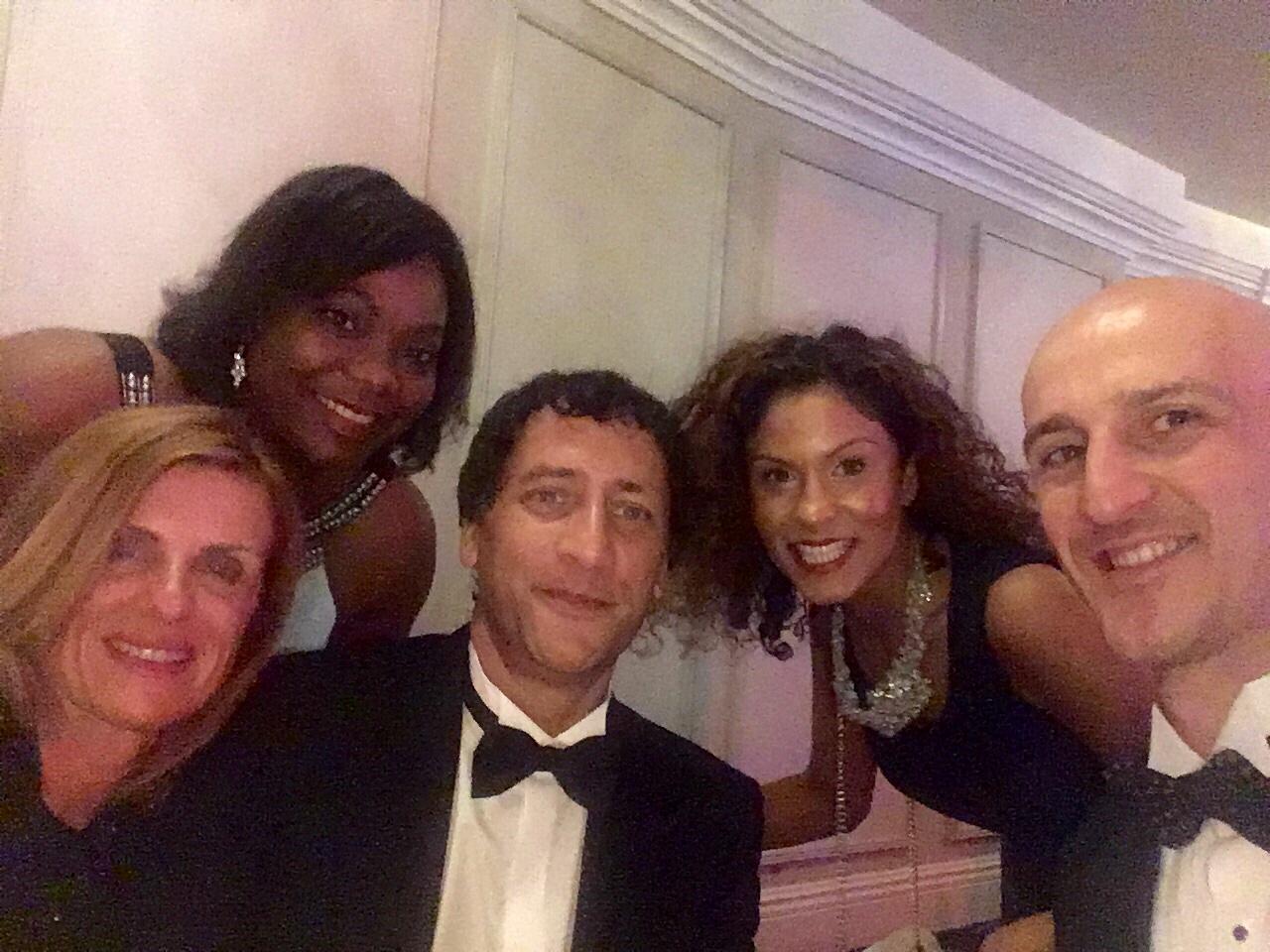 Shirley at awards night