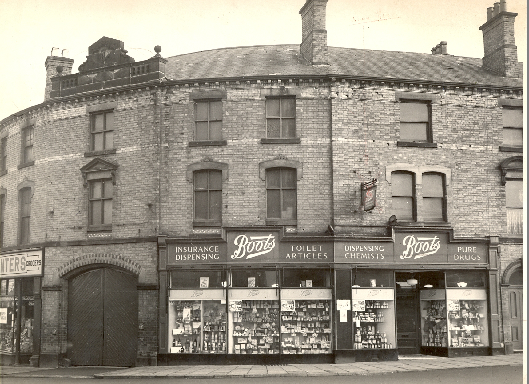 Boots Ripley store, 1953
