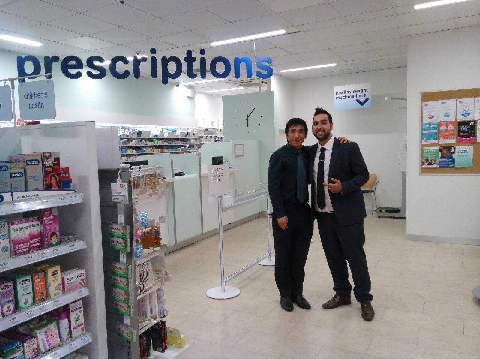 Hass Mohbat in the pharmacy